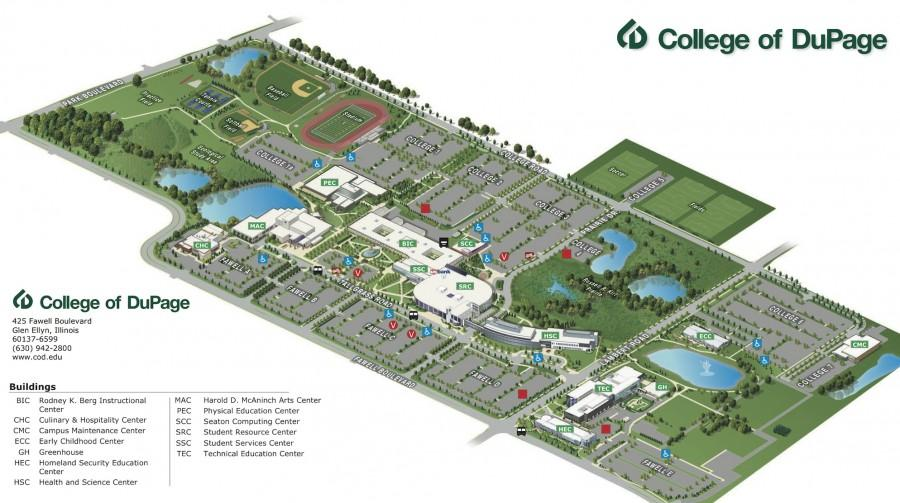 Your campus map