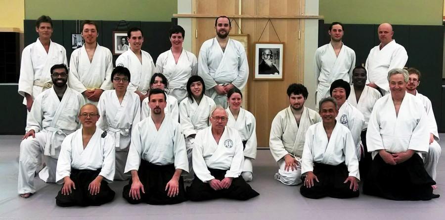 Aikido Club celebrates 40 years