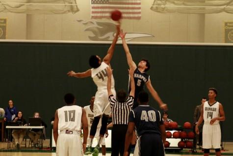 COD's men's basketball team earns victory over Harper