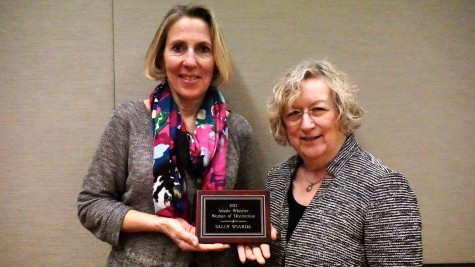 Founder of '100+ Women Who Care' receives award