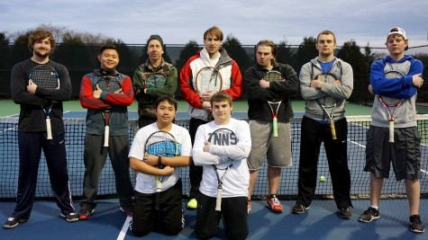 Tennis team strives for victory