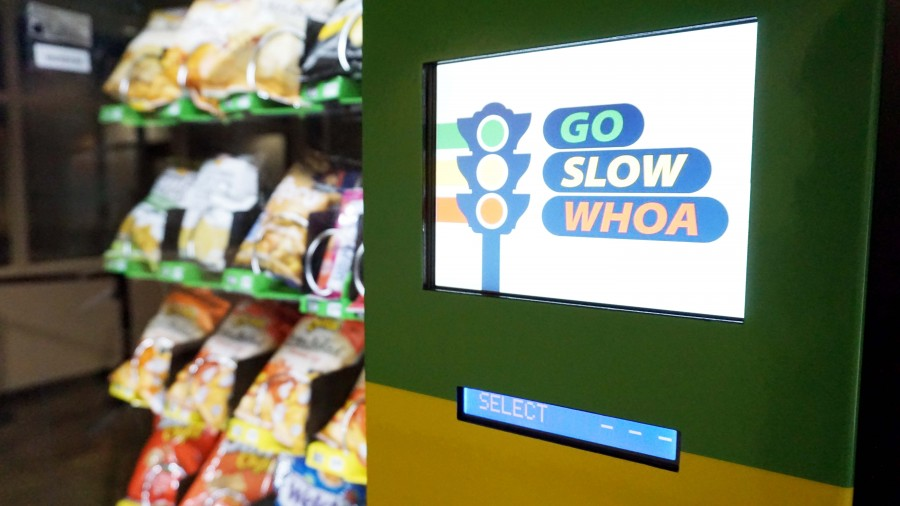 New health-conscious vending machines have some saying 'whoa'