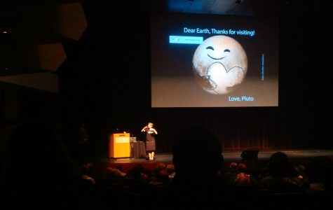 NASA Scientist gives seminar on satellite fly-by of Pluto