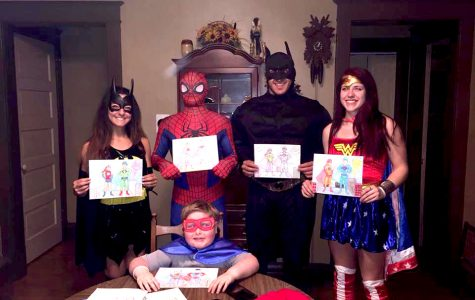 New LYM crew become pediatric cancer patient's superheroes