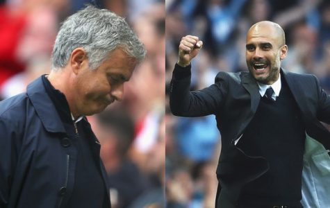 Manchester is blue: Guardiola taunts Mourinho