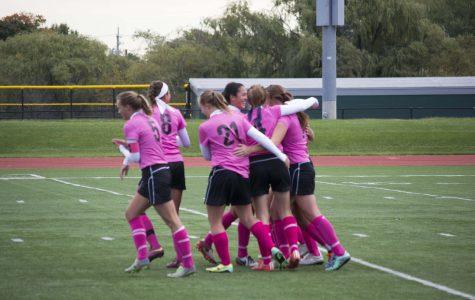 Girls Soccer team win Semi finals
