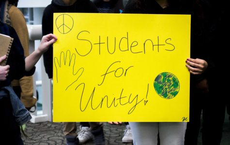 Louder than words: Honors students organize silent walk to unify community