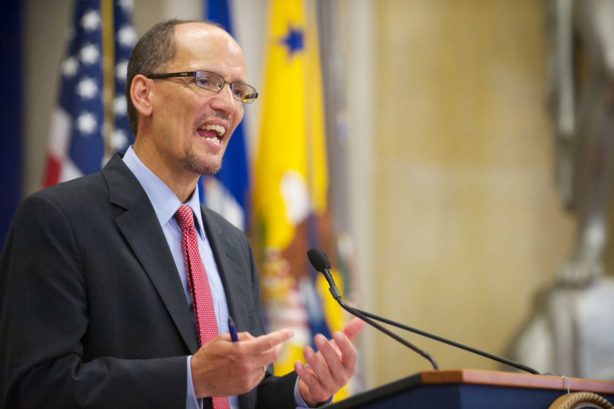 Tom Perez, the chairman of the Democratic National Convention