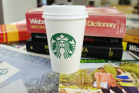 The Starbucks inside campus is convenient, but the lines can be long.