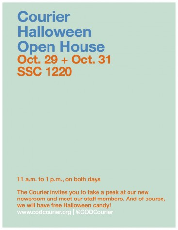 Courier Halloween Open House