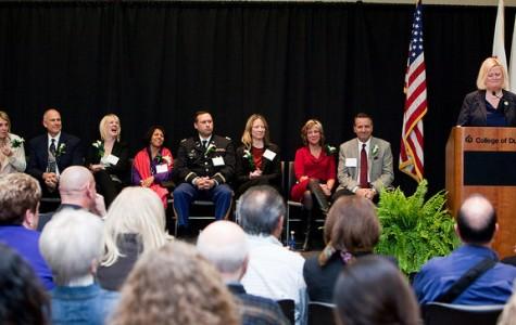 College recognizes notable alumni