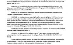 Breuder's addendum to contract