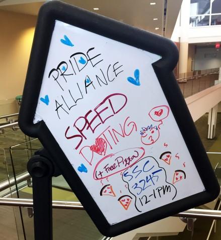 Pride Alliance hosts speed dating mixer