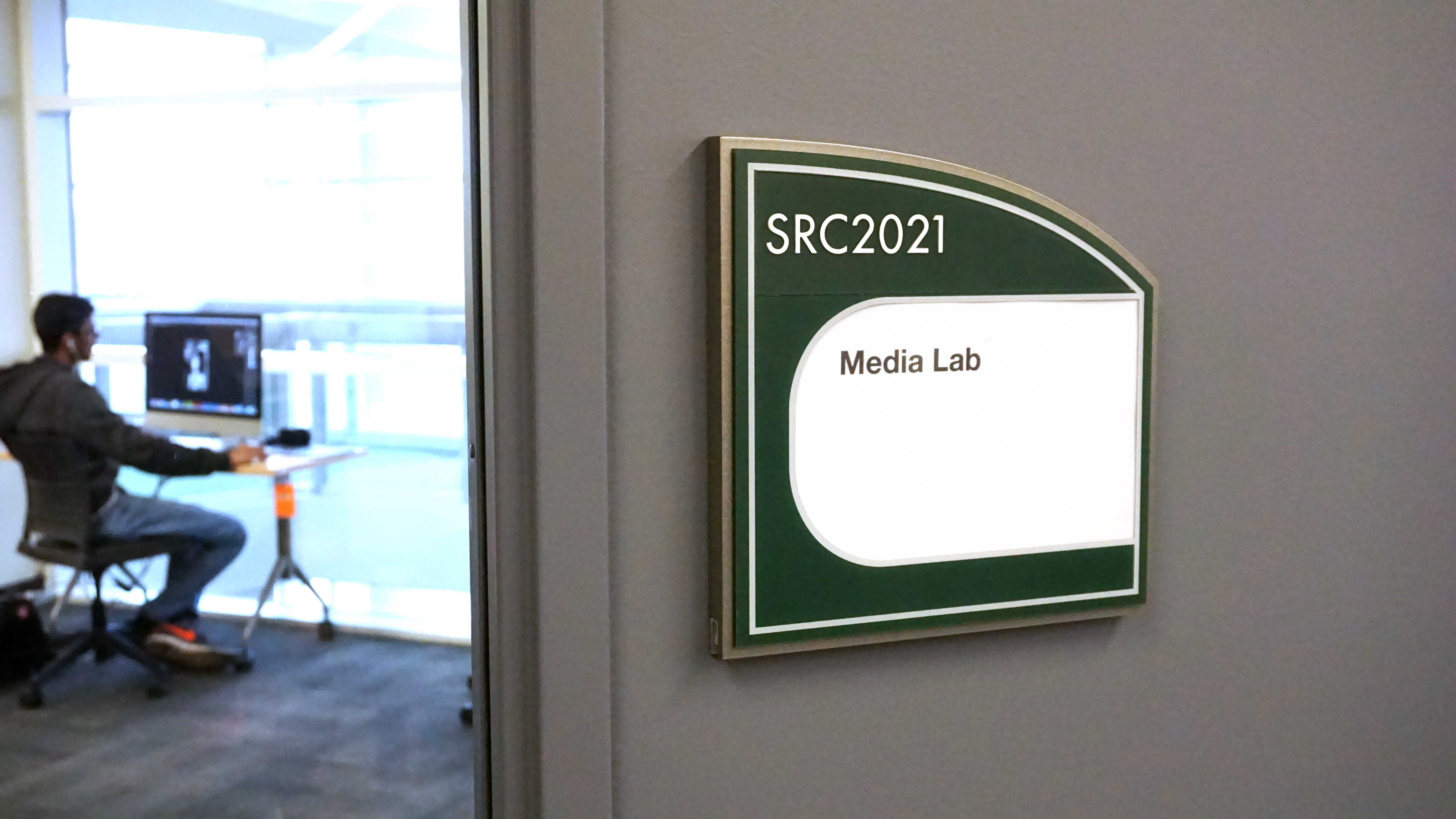 The Media Lab, located at College of DuPage's library on March 19.
