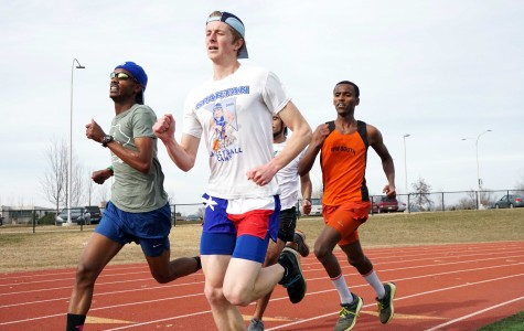 High expectations for track and field