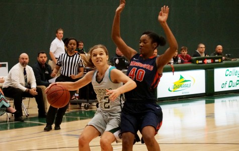 A rough season for COD's women's basketball team