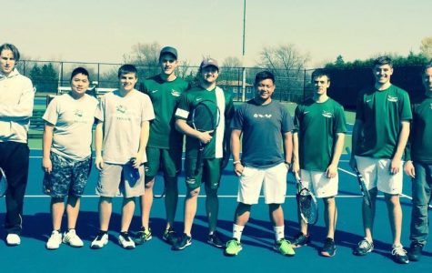 Chap's Tennis Triumphs in Men's Meet