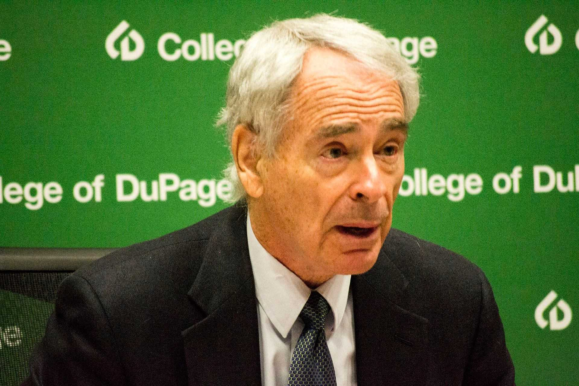 Trustee Charles Bernstein, President of the Audit Committee at a news conference the day the audit was released.