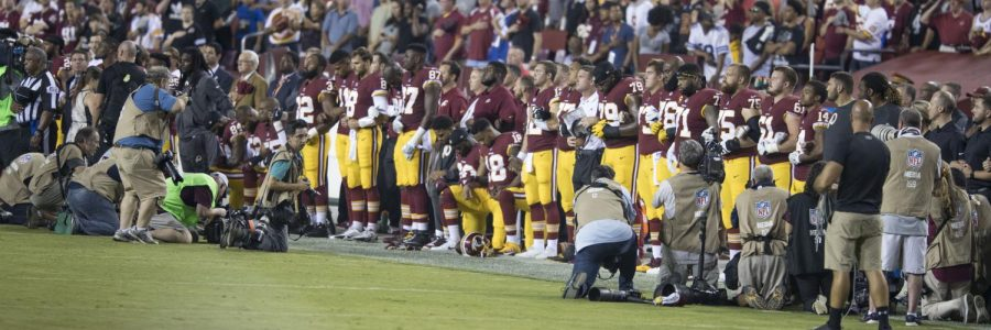 Legal case means no end in sight for NFL protests