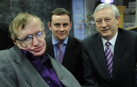 Stephen Hawking's eternal light (1942-2018)