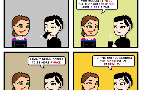 Comic: Coffee is life