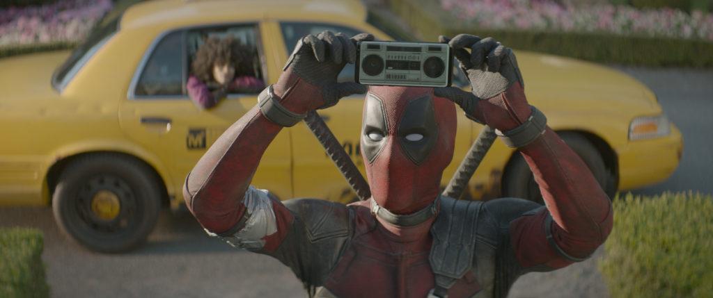 af0212_pubstill_01_R – Ryan Reynolds stars as Deadpool in Twentieth Century Fox's DEADPOOL 2. Photo Credit: Courtesy Twentieth Century Fox.
