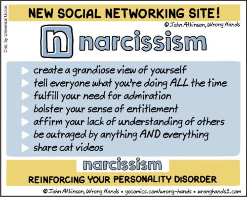 Comic: Narcissim
