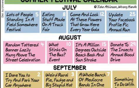 Comic: Summer festival calendar