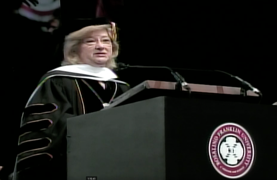 Watch COD President Ann Rondeau deliver commencement address at Rosalind Franklin University