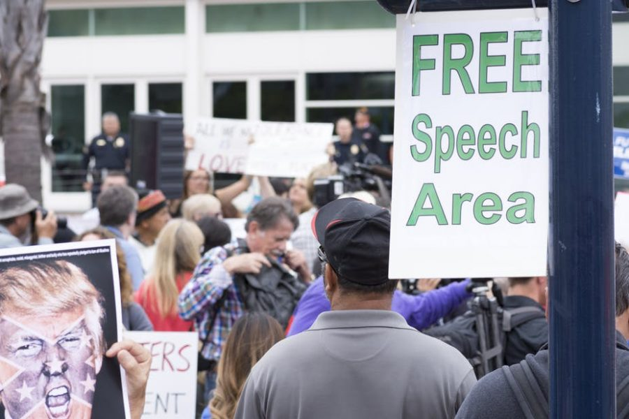 'Free speech zones' and other efforts to limit free speech on campus are igniting controversies across the nation.