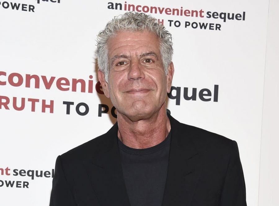 Anthony Bourdain in a July 17, 2017, photo at the screening of An Inconvenient Sequel: Truth to Power.