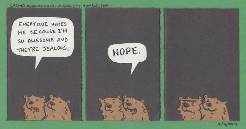 Comic: Hater motivation