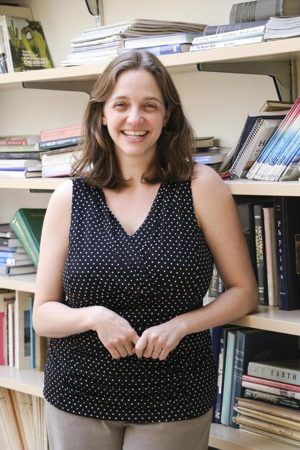 COD Professor of Physics Alexandra Bennett worked at Fermilab, and Europe's CERN's Compact Muon Solenoid, one of the detectors along the Large Hadron Collider