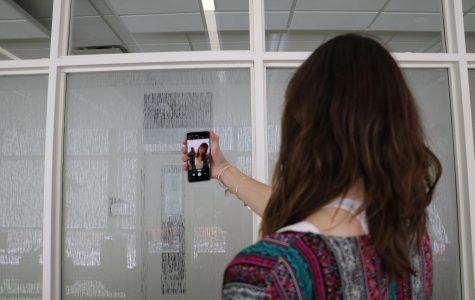 Students practice the art of self branding.