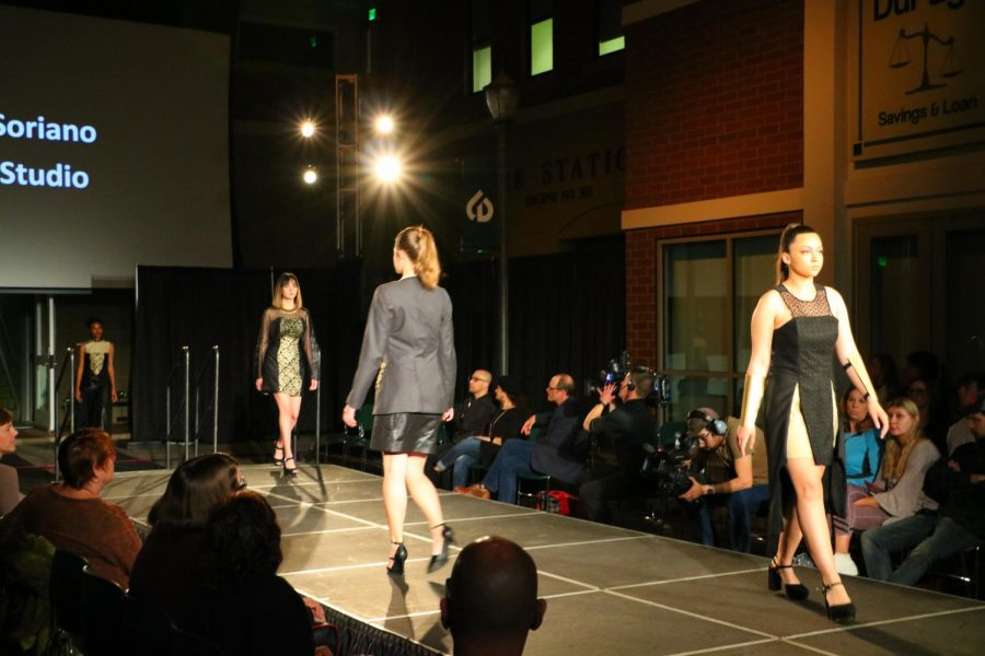 CODe Student Fashion Show dazzles the HSC Street Scene