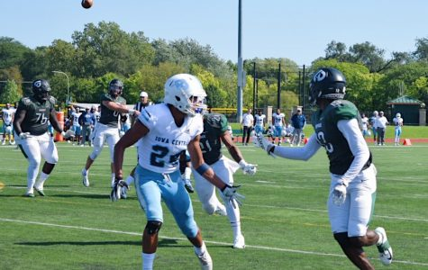 Wide Receiver, Torre Butts Jr. (13), looking to catch the ball for a touchdown.