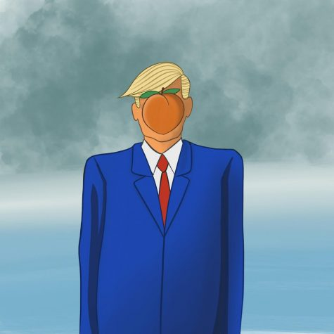 Will history judge President Trump's impeachment trial as an indictment on his record and the surge of American populism, or as precedent further normalizing the political dominance of the executive branch and divisive partisanship? (graphic by Jessica Tapia)