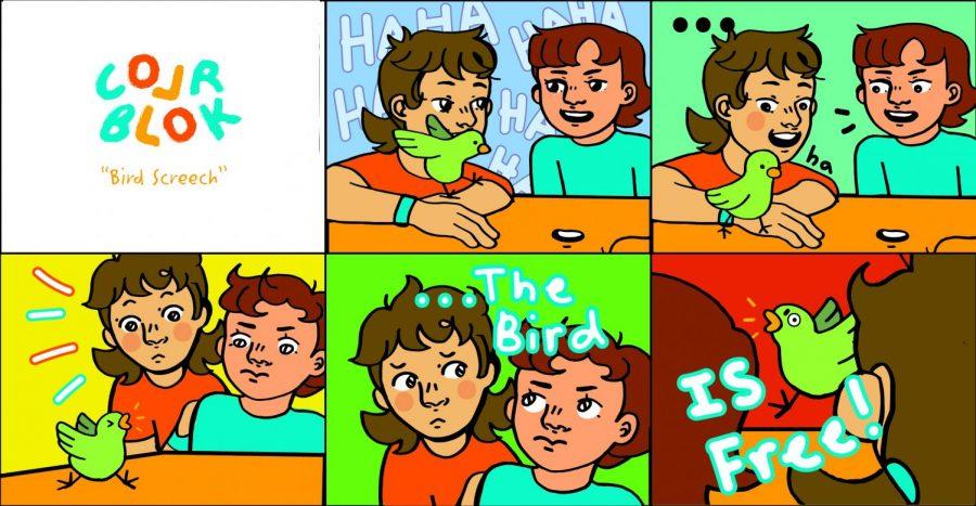 Comic- Colr Blok: Bird Screech