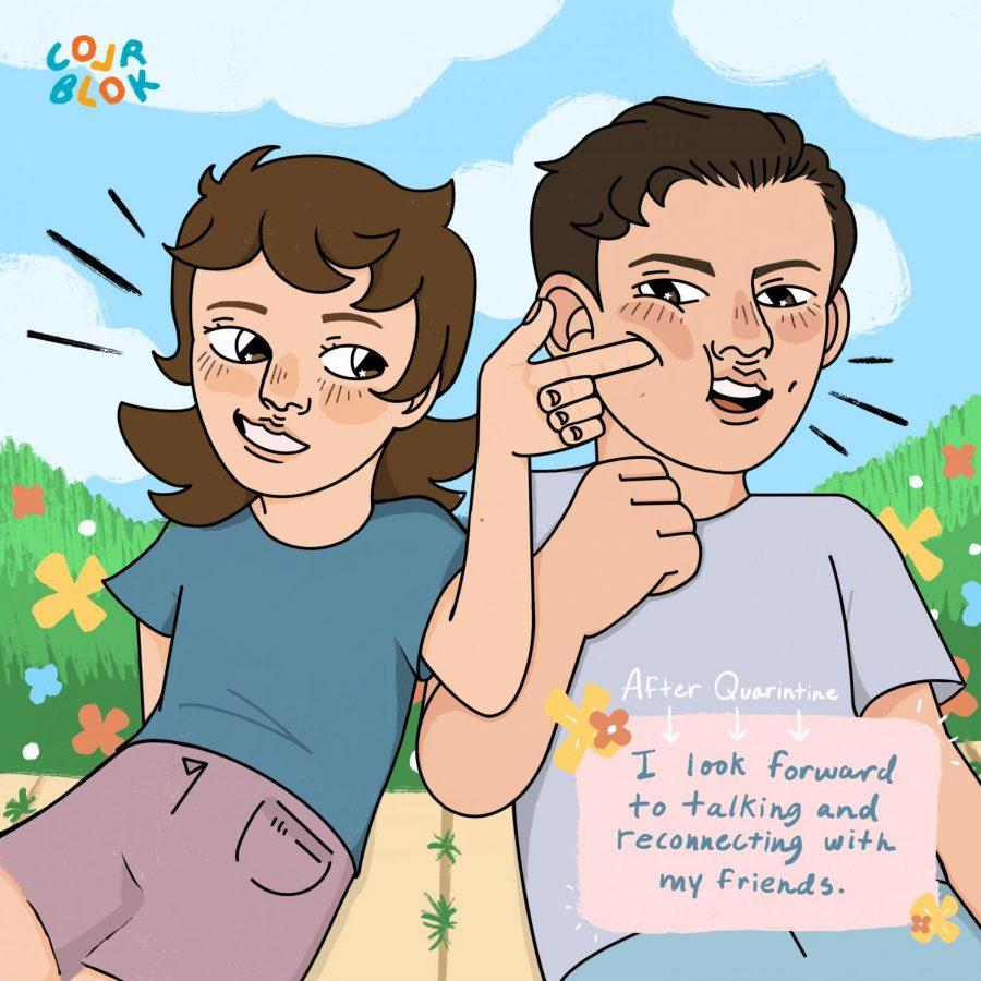 Colr Blok(Quarantine): Friends