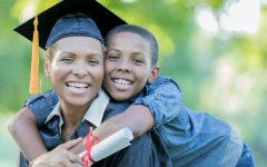 A stable residence on campus can help college students who are parents complete their degrees. SDI Productions/Getty Images