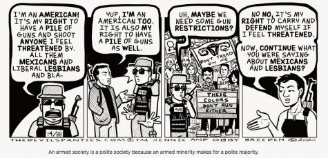 COMIC: An armed society