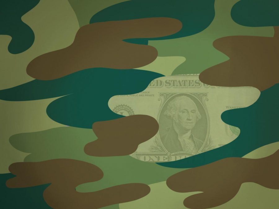 The military may be broke in 2021
