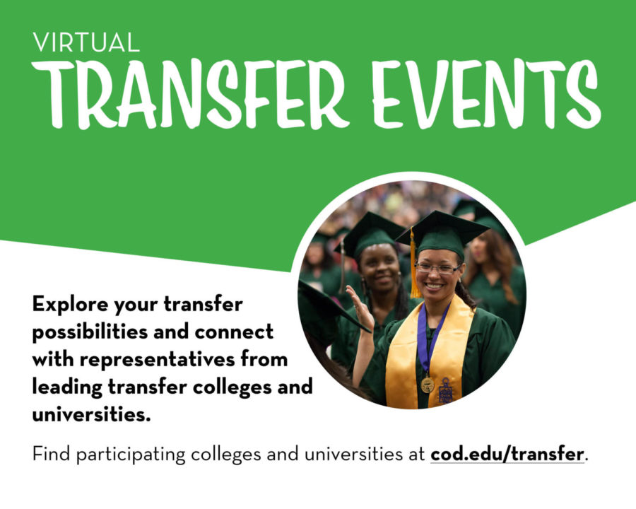 Get info on transferring from COD to your next school (Sponsored Content)