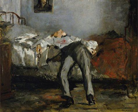 Le Suicide by Edouard Manet
