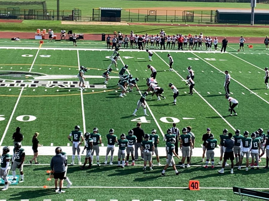 COD Football Blows Out Erie College 41-0